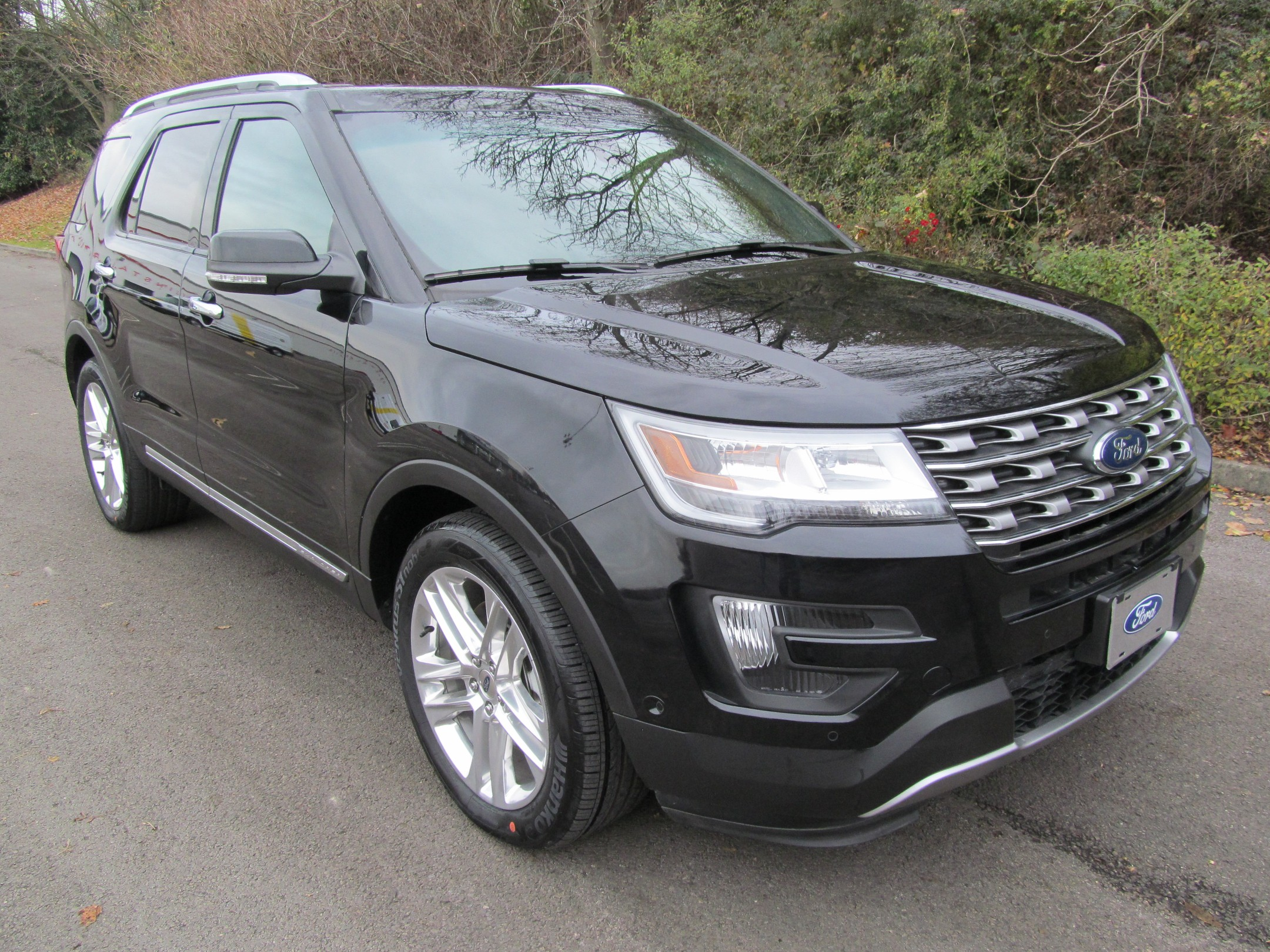 2016 ford explorer limited 23l ecoboost black 8759