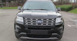 **SOLD**2016 Ford Explorer XLT 4WD 3.5L Auto, Black with Leather 49069