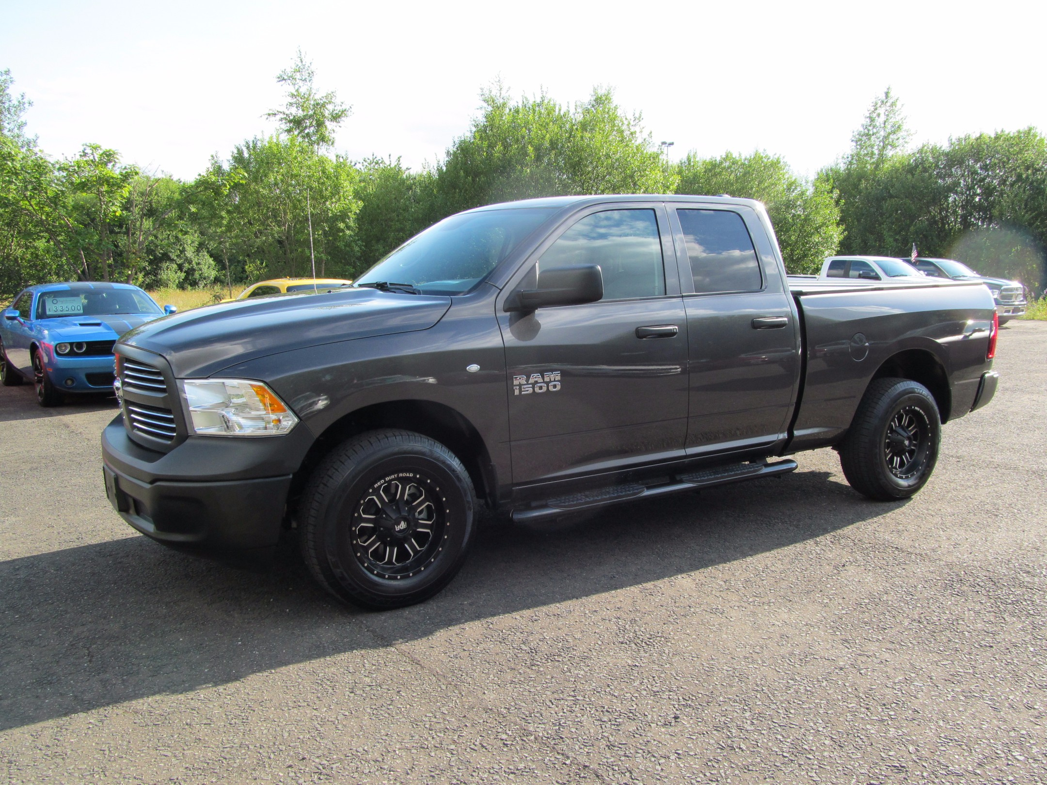 2017 67 reg dodge ram 1500 3 6ltr v6 4 4 auto grey david johnson ford lincoln. Black Bedroom Furniture Sets. Home Design Ideas